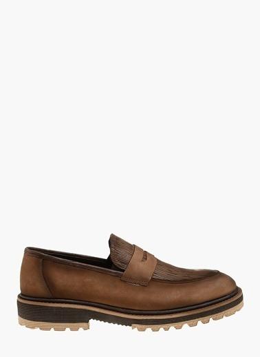 Divarese Loafer Ayakkabı Kahve